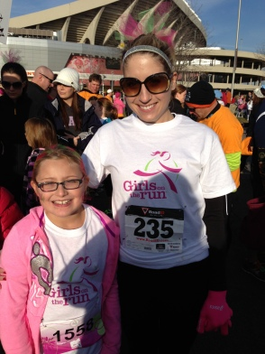 I am a big fan of the silver! Sparkly soul was necessary at my Girls on the Run 5k this year!
