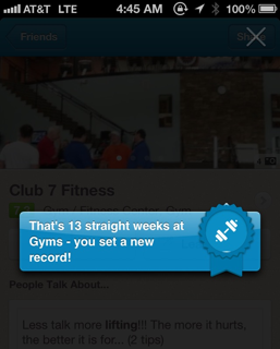 4:45am - How am I not Mayor of my gym???