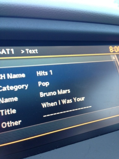 8:00am - Belt out some Bruno. Gosh I love this song!