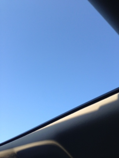 BEAUTIFUL weather!!! Amazing to drive with the sunroof open!