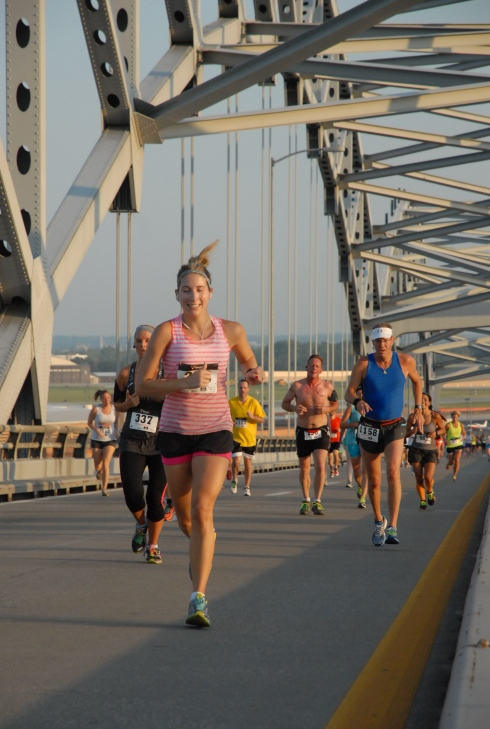 All smiles on the broadway bridge!