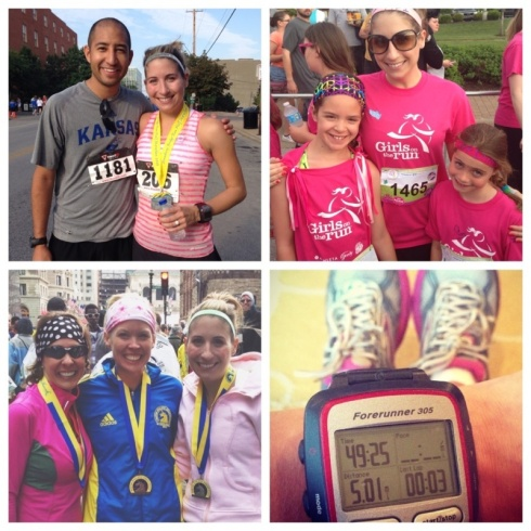 Some of my favorite adventures. Conquering the hardest half marathon EVER, Running with my GOTR girls, Crossing the Boston Marathon Finish line, and deciding to take the plunge and dive into NYC training.