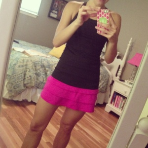 New running skirt from Athleta. I LOVED it!