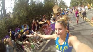 Ran the race with a GoPro in 2014. It was awesome!