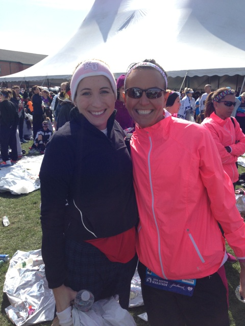 Then I saw Kathleen!!! Another running friend from KC.