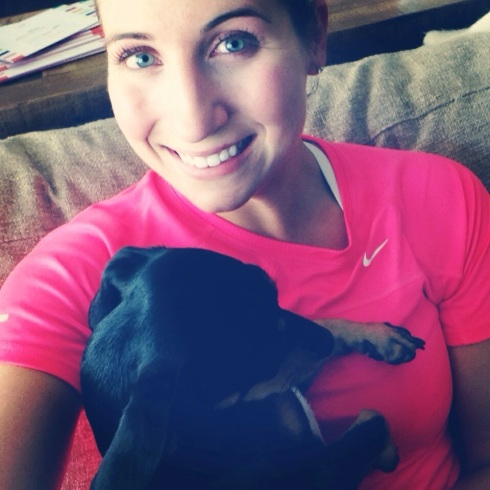 Post run snuggles.